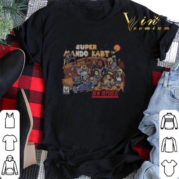 Super mario kart new republic The Mandalorian shirt sweater