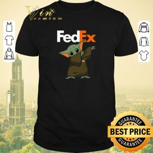 Top Baby Yoda dabbing Fedex Star Wars shirt sweater