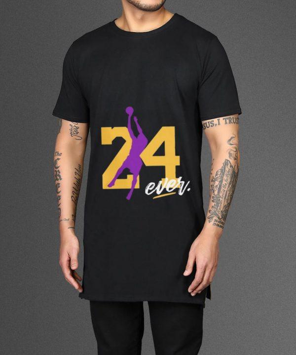 Top RIP KOBE BRYANT 24 FOREVER shirt