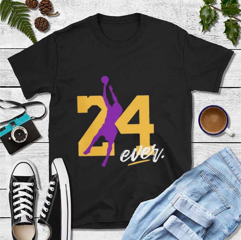 Top RIP KOBE BRYANT 24 FOREVER shirt 4 - Top RIP KOBE BRYANT 24 FOREVER shirt