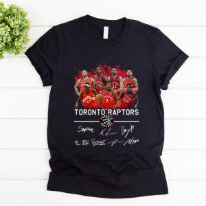Top Toronto Raptors Players Signatures shirt