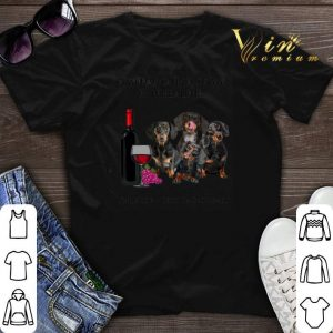 A woman cannot survive on wine alone she also needs dachshunds shirt sweater