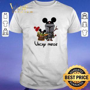 Awesome Baby Yoda and The Mandalorian vacay mode Disney shirt sweater