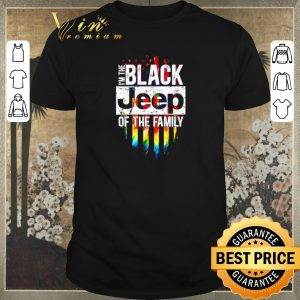 Awesome I'm the black Jeep of the family American flag shirt sweater