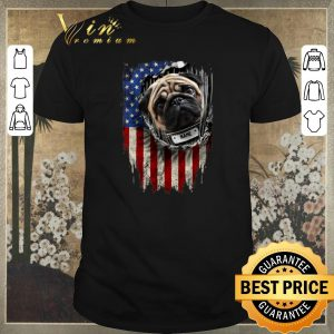 Awesome Pug dog name American flag shirt sweater