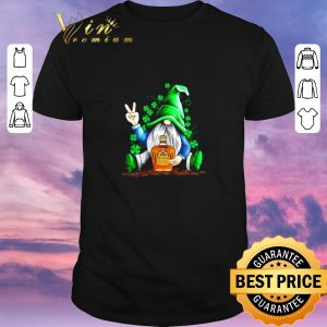 Awesome St Patrick's Day Irish Gnome and Crown Royal shirt sweater
