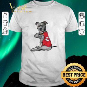 Funny Pitbull Tattoo love Kansas City Chiefs shirt sweater