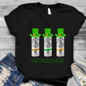 Great Lepreclawns Lucky Shamrock Drinking St Patrick's shirt