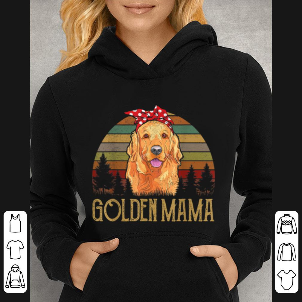Great Red Golden retriever Mama Mom Vintage Funny Mother Gifts Tee shirt 4 - Great Red Golden-retriever Mama Mom Vintage Funny Mother Gifts Tee shirt