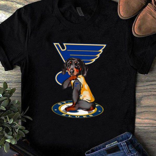 Great Tattoos Dachshund St Louis Blues shirt