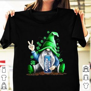 Hot Gnomes Lucky Hug Keystone Light St Patrick's Day shirt