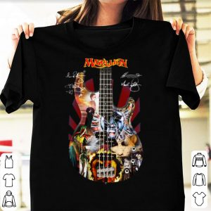 Hot Marillion Guitar Signatures shirt