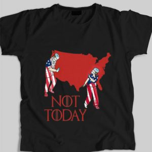 Hot Nurse Not Today American Flag shirt
