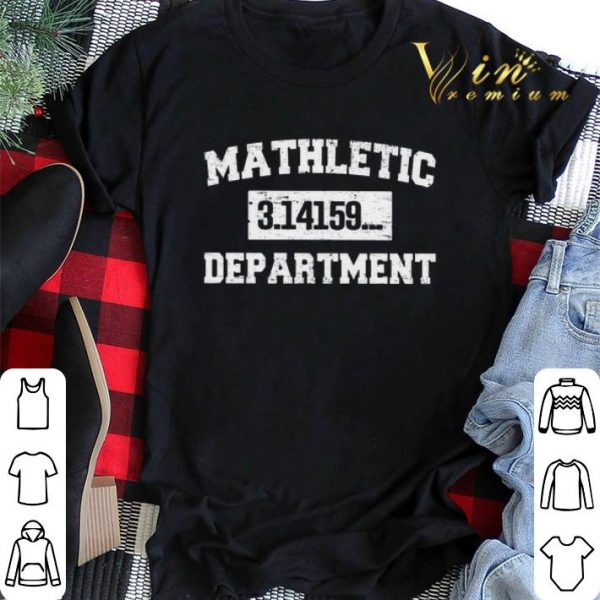 Mathletic 3.14159... Department shirt sweater
