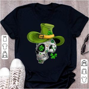 Nice St Patricks Day Mexican Skull Cinco De Mayo shirt