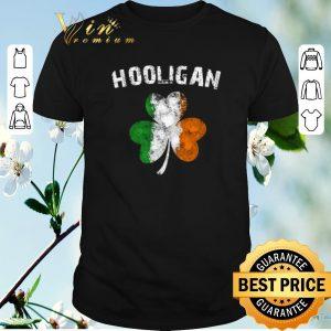 Original Hooligan Irish shamrock St. Patrick's day shirt sweater