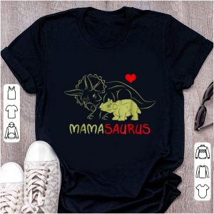 Original Mama Triceratops Dinosaur Funny Gift For Mother Day shirt