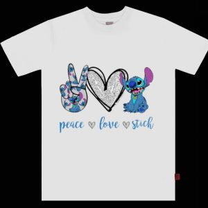 Original Peace Love Stitch shirt