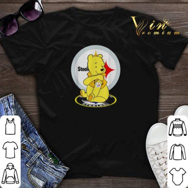 Pooh tattoos Pittsburgh Steelers logo shirt sweater