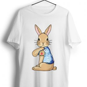 Premium Bunny I Love Mom Tattoo Mother's Day shirt