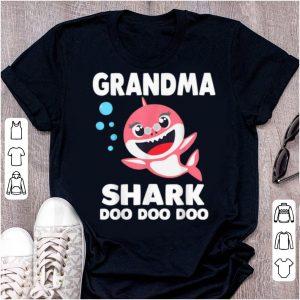 Premium Grandma Shark, Funny Mother's Day Gift For Womens Kids shirt