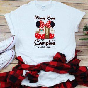 Premium Mouse Cars And Camping Kinda Girl shirt