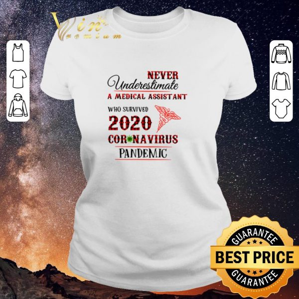 Premium Never underestimate A Medical Assistant who survived 2020 coronavirus pandemic shirt sweater