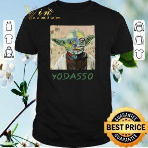 Premium The Mandalorian Baby Yoda Yodasso art shirt sweater