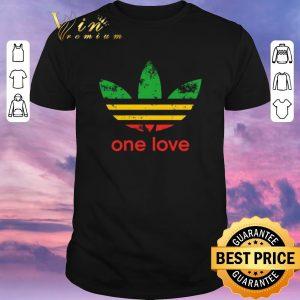 Premium adidas one love Bob Marley shirt sweater