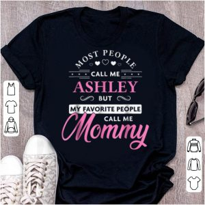 Pretty Ashley Name Mommy - Personalized Mothers Day Gift shirt
