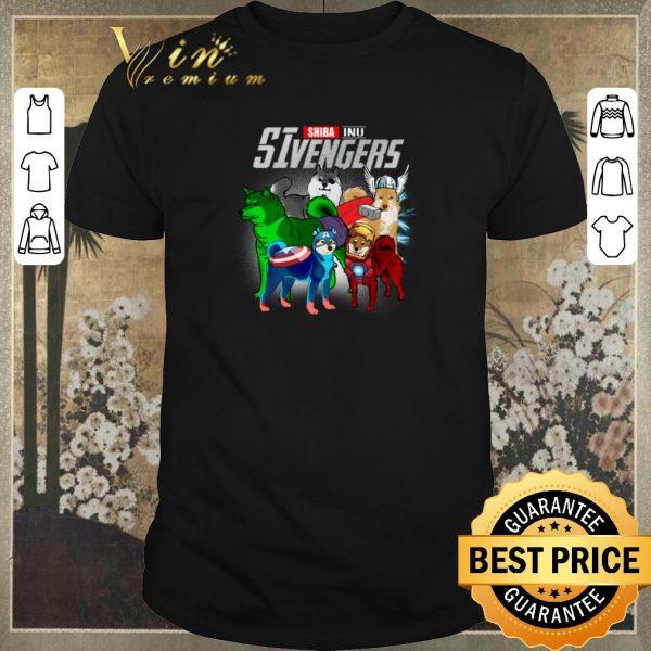 Pretty Marvel Shiba Inu SIvengers Avengers Endgame shirt sweater
