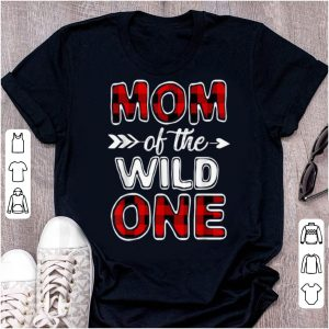 Pretty Mom Of The Wild One Buffalo Plaid Mothers Day Gift shirt