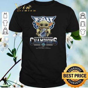 Top Baby Yoda Florida Atlantic Owls 2019 Cheribundi Boca Raton Bowl Champions shirt sweater