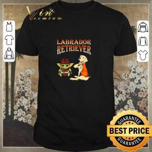Top Baby Yoda Motor Harley Davidson Cycles Labrador Retriever shirt sweater