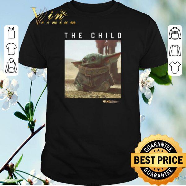 Top The Child Star Wars Mandalorian Baby Yoda shirt sweater