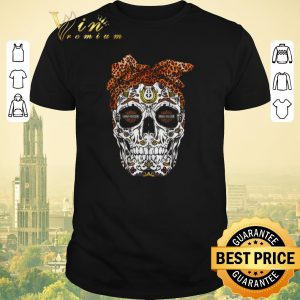 Awesome Skull Leopard Moto Harley Davidson Cycles shirt sweater