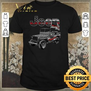 Hot American Flag Jeep shirt sweater