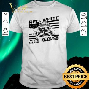 Pretty American Flag Beer Red White And Brew shirt sweater