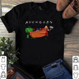 Avengers parody Friends tv show shirt