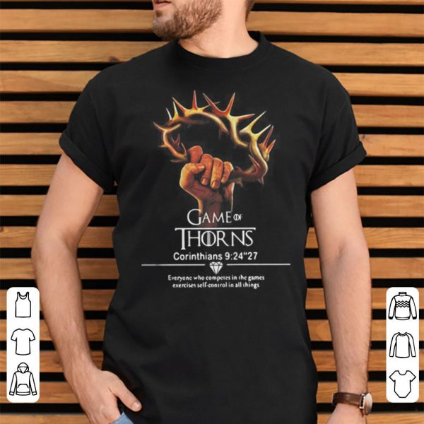 Game of thrones Corinthians 9 24 27 shirt