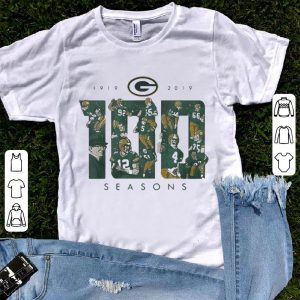Green Bay Packers 100 seasons 1919-2019 shirt