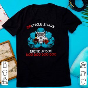 Jack Daniel's Druncle Shark Drink Up Doo Doo Doo Doo Doo shirt