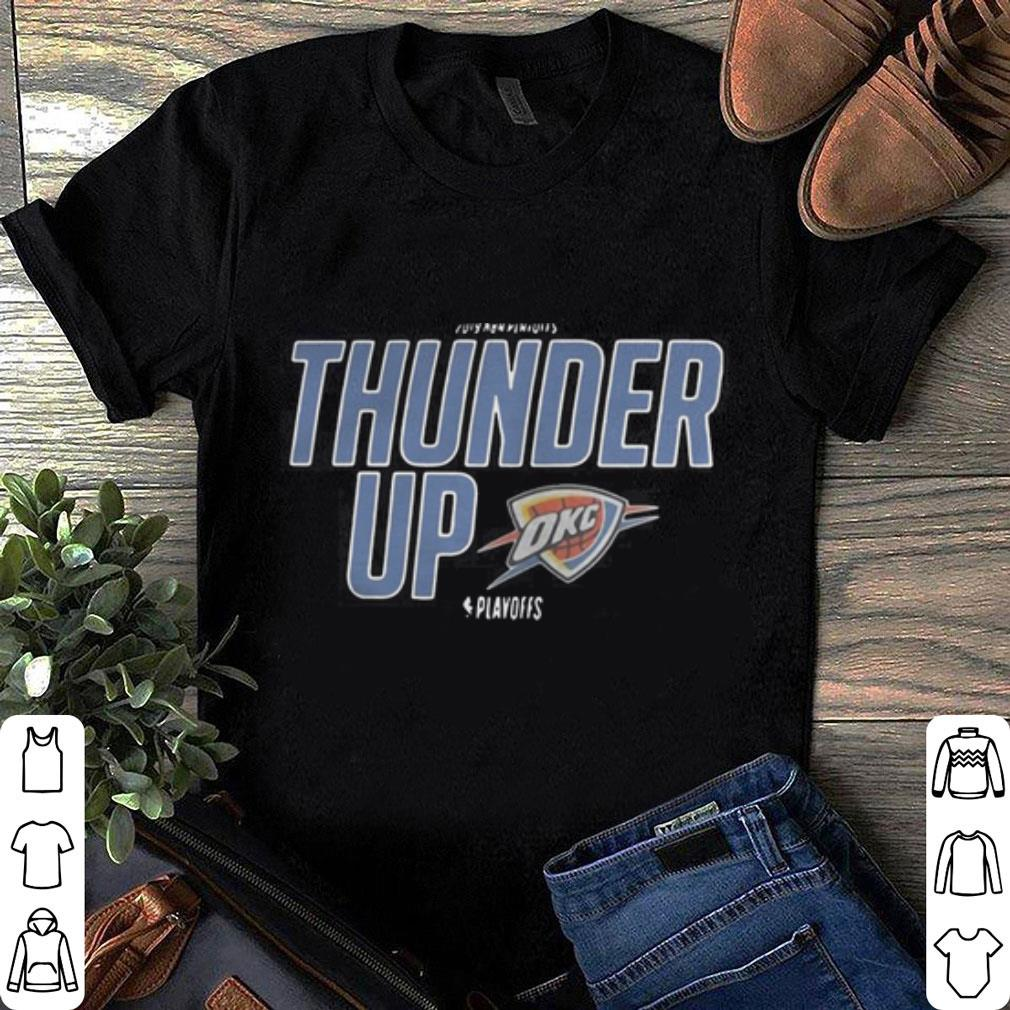 pretty nice 45fc4 cd32f Oklahoma City Thunder up Team Wordmark playoffs shirt