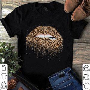 Sexy leopard lips shirt