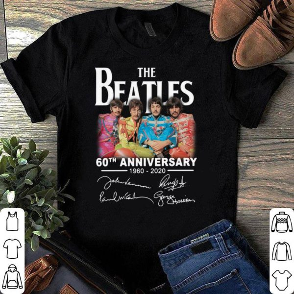 The Beatles 60th Anniversary 1960 2020 shirt