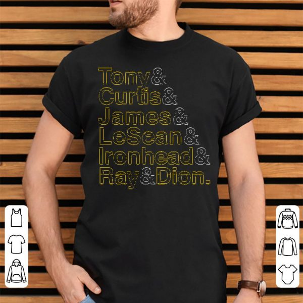 Tony Curtis James LeSean Ironhead Ray Dion shirt