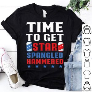 America Drinking Time To Get Star Spangled Hammered shirt