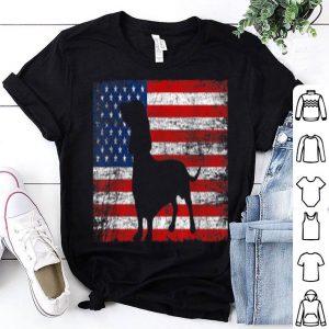 American Flag Dachshund Dog Lover 4th Of July Gift Shirt