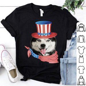American Flag – Husky 4th Of July Shirt