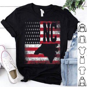 American Flag North Carolina 4th of July Vintage shirt